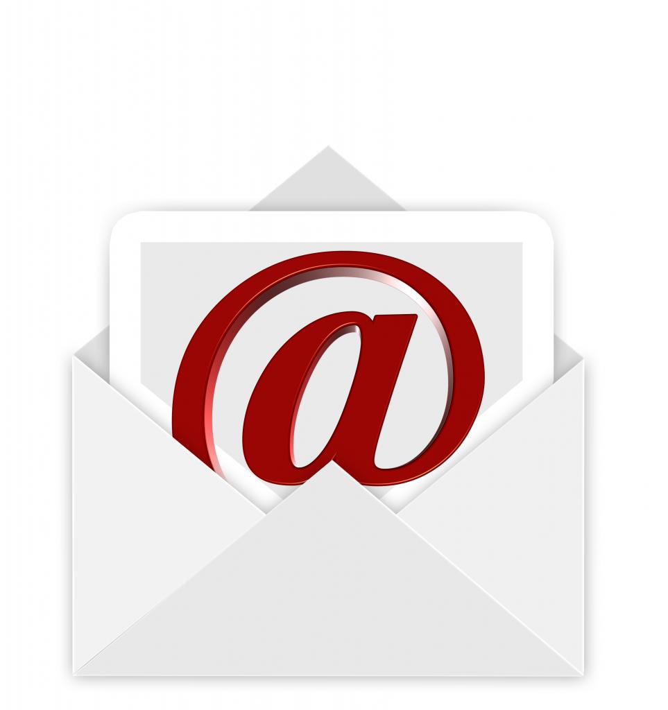 Kontaktieren Sie uns via Mail